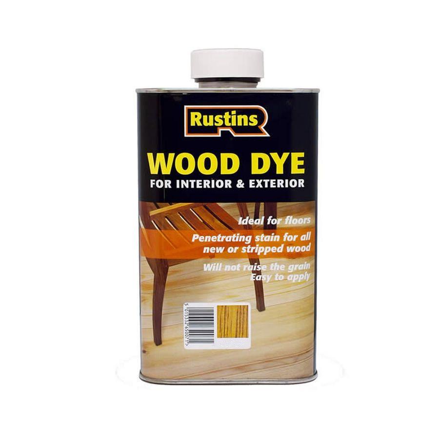 Rustins Wood Dye Pine 125ml Haz R001b Bromley Craft