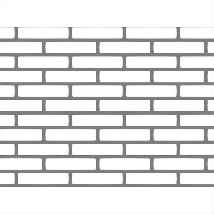 Herringbone Brick Pattern Wall Paint