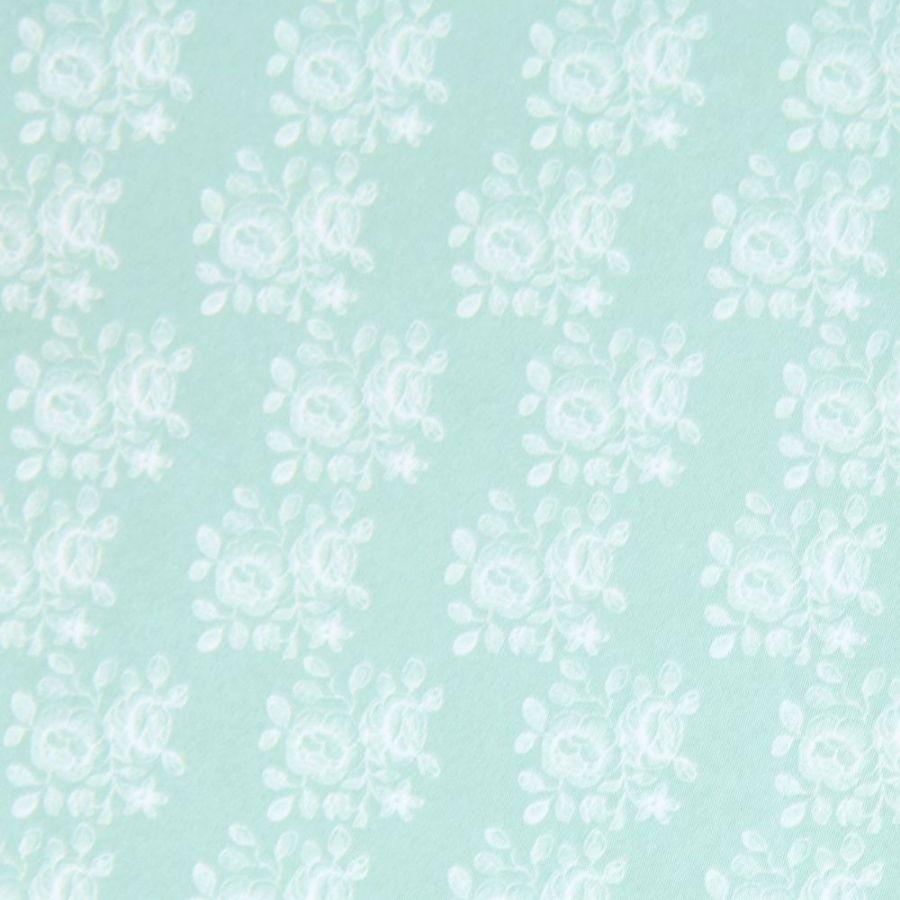 Blenheim Pastel Green On White Wallpaper 124 Scale