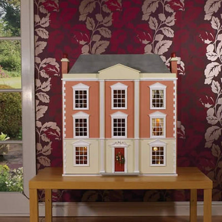 0709 Montgomery Halll Dolls House Kit From Bromley Craft Products Ltd