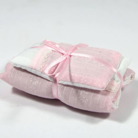 Pale Pink Single Bedding Set #2