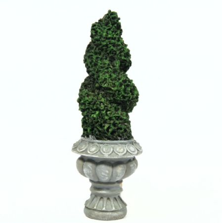 Flat Backed Topiary Twist Tree