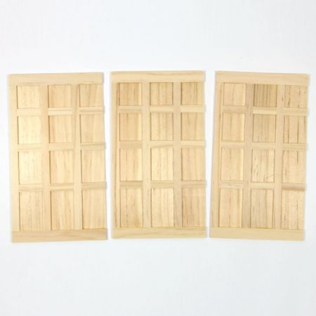 Tudor Syle Wooden Panelling - 1:12 Scale