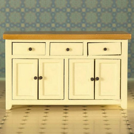 Shaker Style Sideboard - Cream