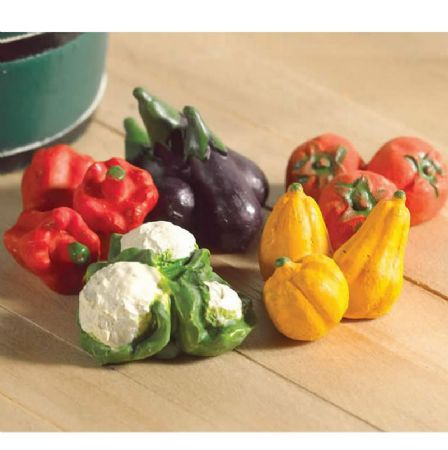 Pack of 5 Vegetables