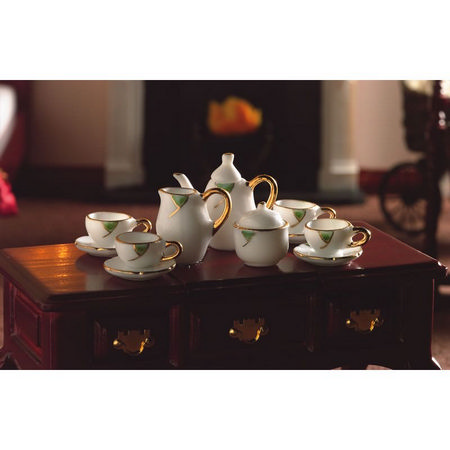 Falling Leaf Tea Set