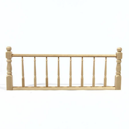 Wooden Railing Assembly for 1:12 scale Dolls House