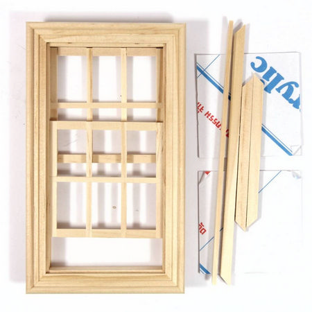 Working Wooden Sash Window