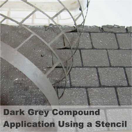 Realistic Brick Compound - Dark Grey / Slate #2