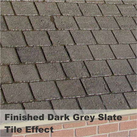 Realistic Brick Compound - Dark Grey / Slate #3