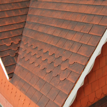 Dolls House Roof Tiles Strips 16mm x12