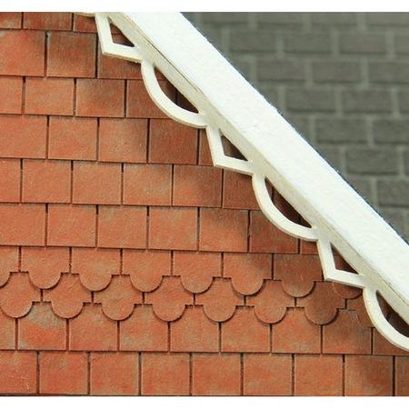 Decorative Dolls House Tile Strip X1 Bct30 Bromley Craft