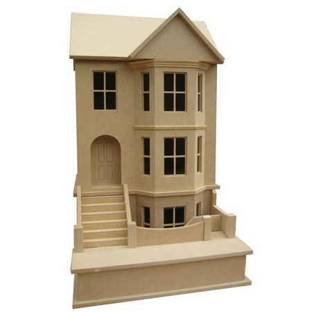Bay View House - Unpainted Kit (1:24 scale)