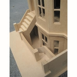 Bay View House - Unpainted Kit (1:24 scale) #5