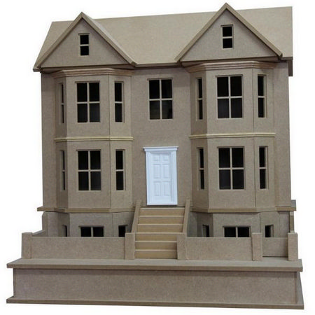 Bay View House Double- Unpainted Kit (1:24 scale)