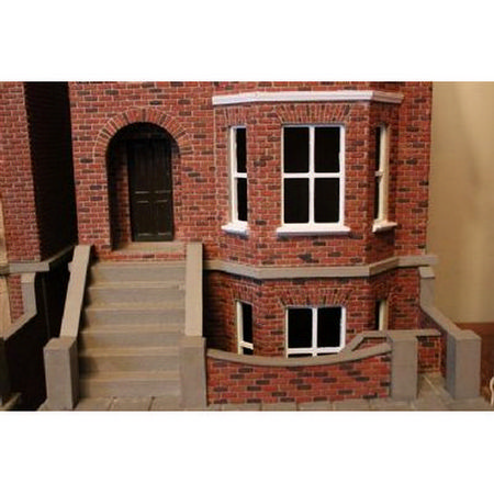 Decorated Bay View House & Basement (1:24 scale) #2