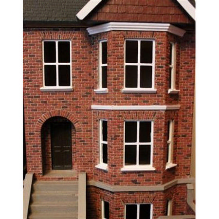 Decorated Bay View House & Basement (1:24 scale) #4