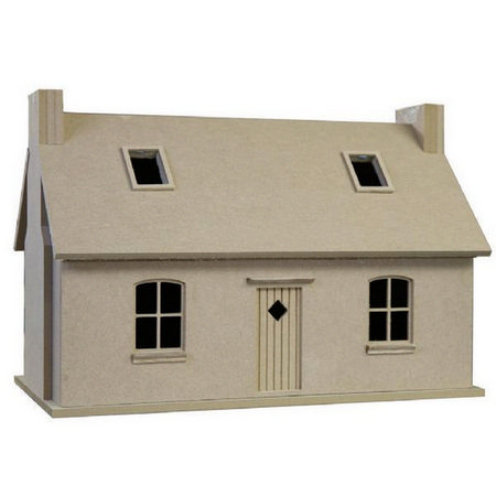 Crofters Cottage - Unpainted Kit 1:24 Scale