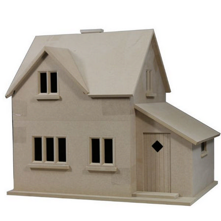 Hurstwood Cottage Dolls House Kit 1 12 Scale Bdh0512