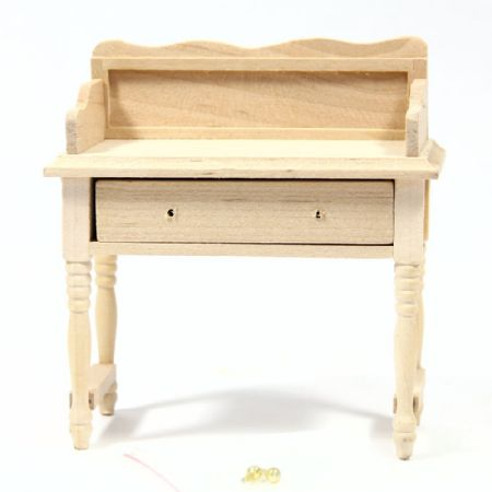 Dolls House Wash Stand - Plain Wood
