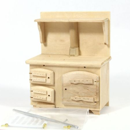 Solid Fuel Stove  - Plain Wood