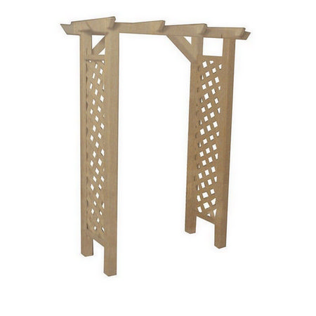 Garden Arbour Natural Wood