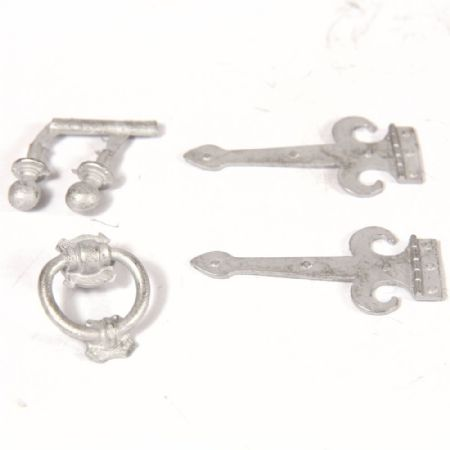 Decorative Door Furniture for 1:12 Scale Dolls House