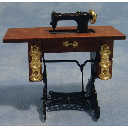 Miniature Treadle Sewing Machine