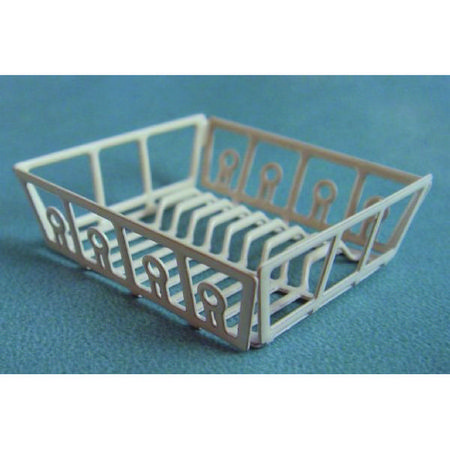 Miniature Metal Sink Plate Rack