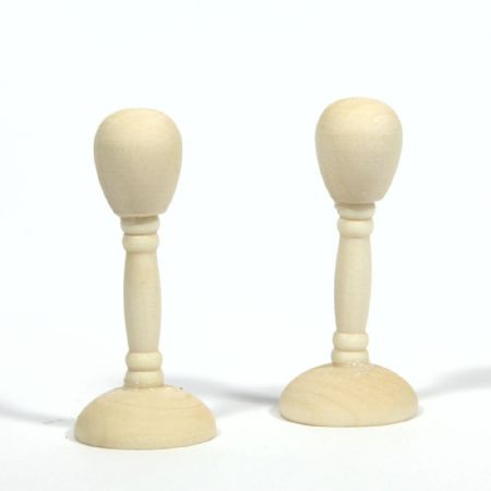 Wooden Hat Stand x2