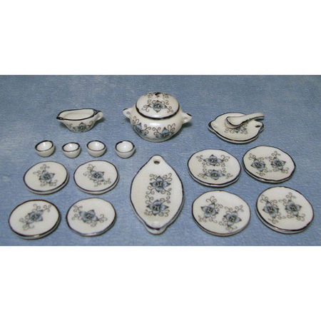 Lotus Miniature Dinner Set