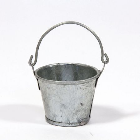 Large Metal Bucket - 1:12 Scale