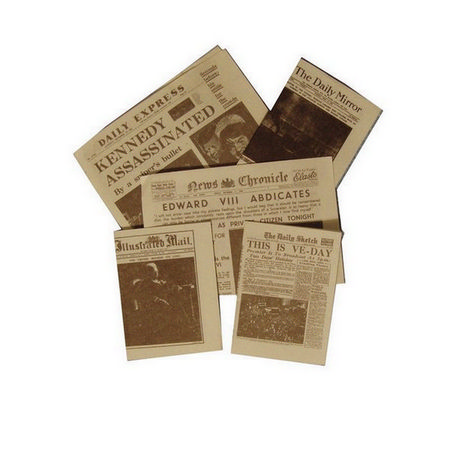 Event Newspapers - 1:12 scale