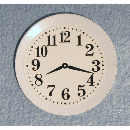 Dolls House Plate Clock
