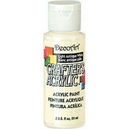 Crafters Acrylic - 59ml Acrylic - Light Antique White