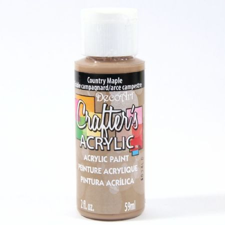 Crafters Acrylic - 59ml Acrylic - Country Maple