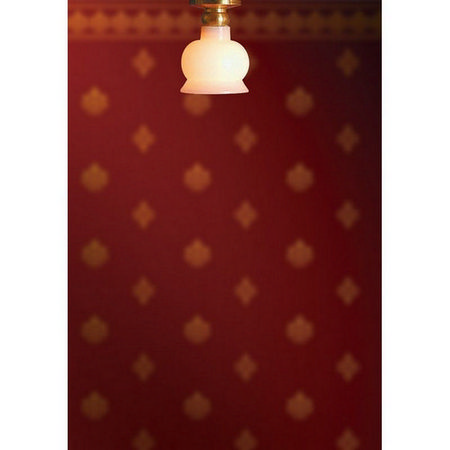 Dolls House Light - Ceiling with Round Shade