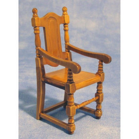2x Carver Chairs for Dolls House 1:12 Scale