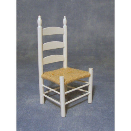 12th Scale White Kitchen Chair