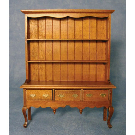 Queen Anne Oak Dresser