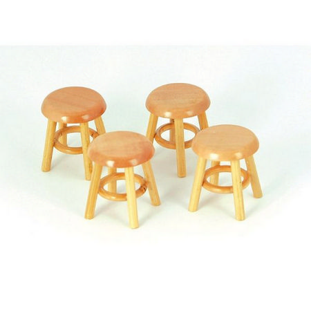 Set of Dolls House Stools