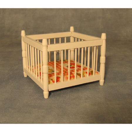 12th Scale Playpen - White