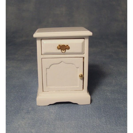 1:12 scale Nightstand - White