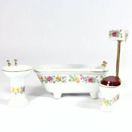Dolls House Bathroom Set