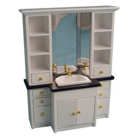 Dolls House Bathroom Sink Unit
