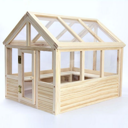 Wooden Greenhouse Kit - 1:12 Scale