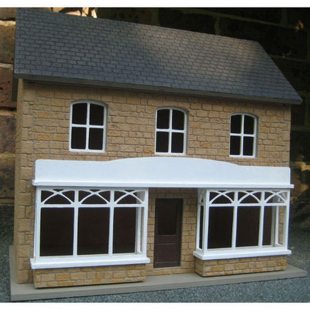 Double Shop - 1:24 scale Externally Decorated Dolls House