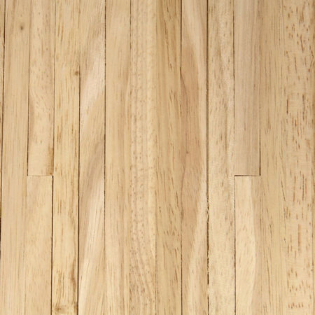 Unfinished Strip Wood Flooring Sheet - 1:12 scale