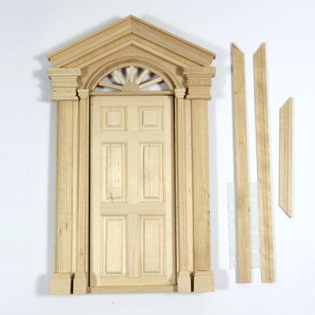 Deluxe Front Door For 1 12 Scale Dolls House Diy081