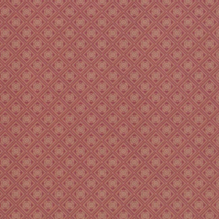 Roma Crest Red Dolls House Wallpaper